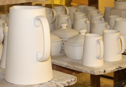 handmade staffordshire pottery